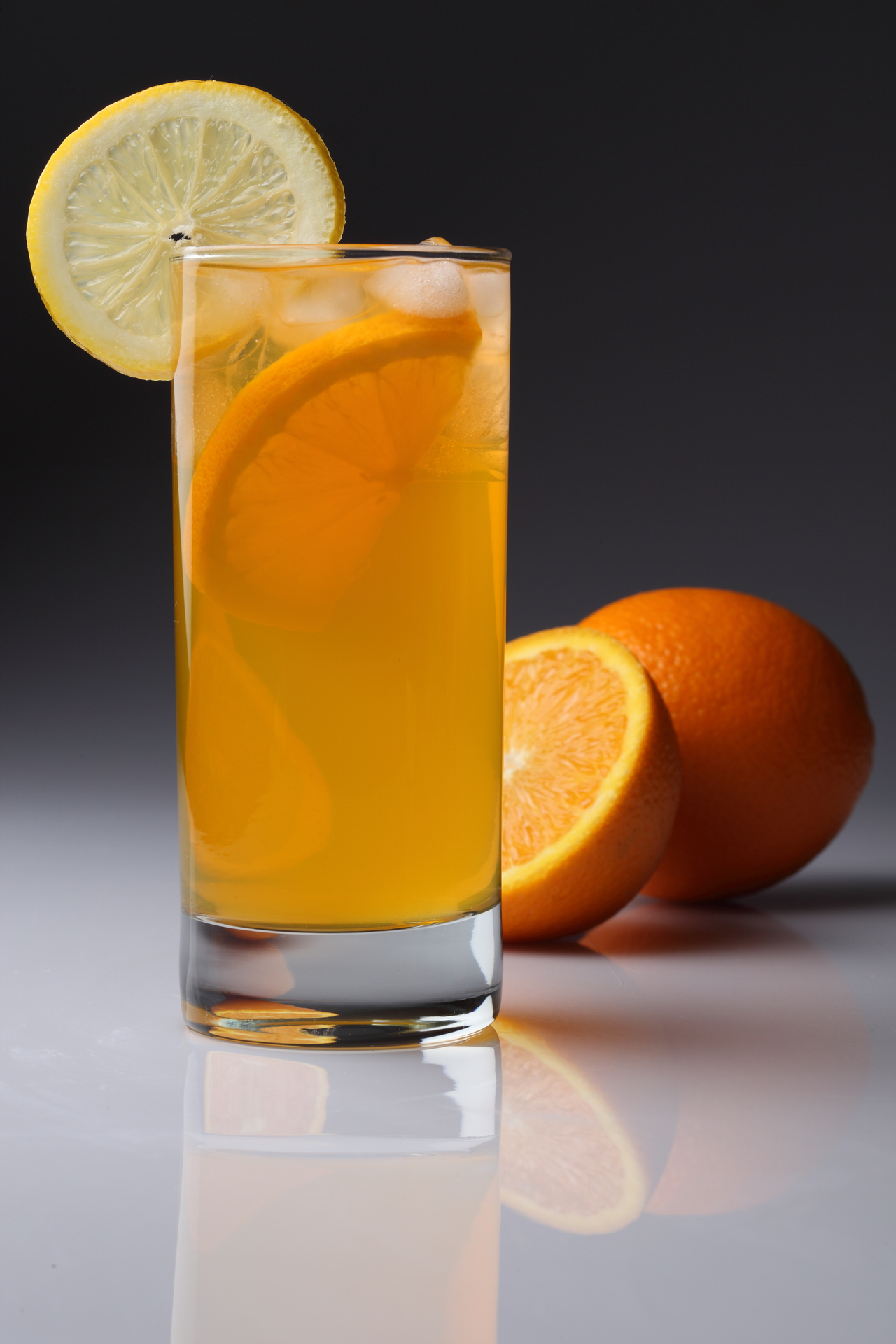 «Домашняя Фанта» апельсиновый лимонад