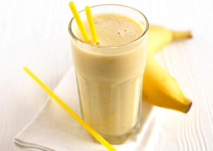 Коктейль бананово-молочный