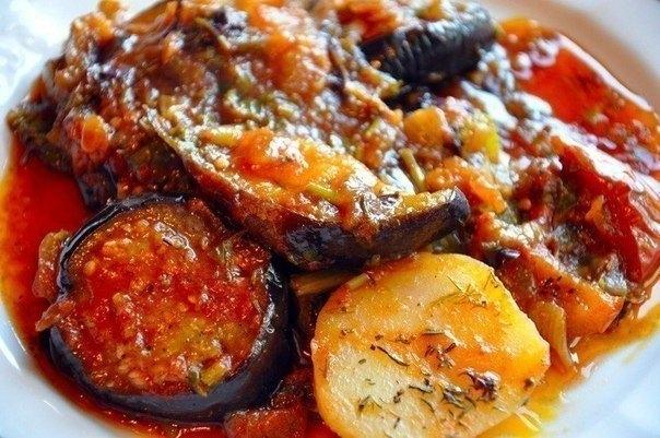 Писто из овощей по-испански