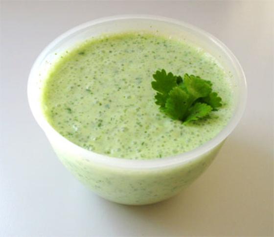 Йогуртовый соус «зелёный»