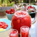 Домашние напитки из клубники для всей семьи