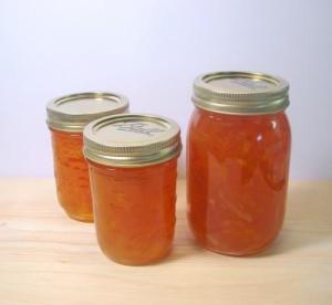 Варенье из кабачков с лимоном и апельсинами