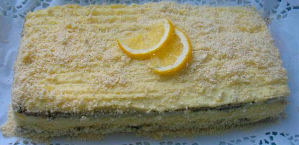Маковый торт «Царица Эстер»
